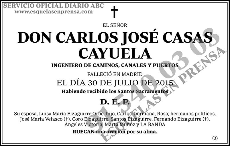 Carlos José Casas Cayuela